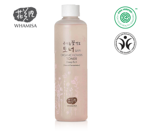 WHAMISA ORGANIC FLOWERS TONER DEEP RICH 300ml  - PHIÊN BẢN LIMITED EDITION